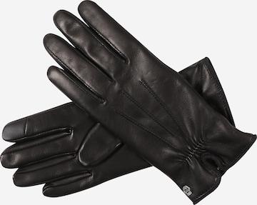 Roeckl Full finger gloves 'Antwerpen' in Black