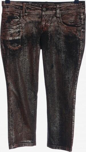 Galliano Skinny Jeans in 28 in braun / schwarz, Produktansicht