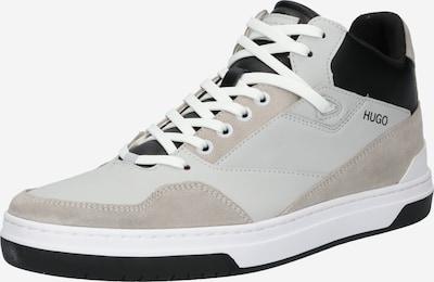 HUGO Високи маратонки в таупе сиво / светлосиво / черно, Преглед на продукта