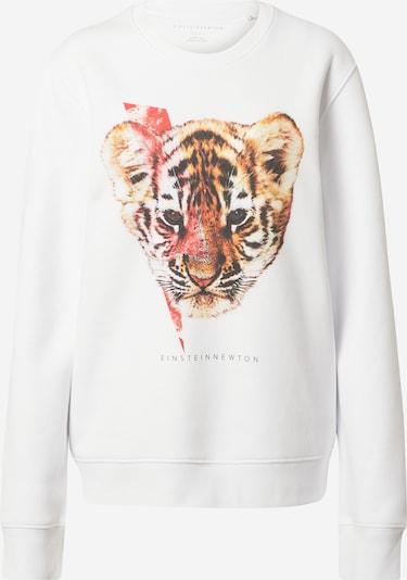 EINSTEIN & NEWTON Sweatshirt  'Tigerzzard Klara Geist' in mischfarben / weiß, Produktansicht