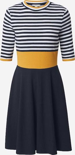 Suknelė iš EDC BY ESPRIT , spalva - tamsiai mėlyna / geltona / balta, Prekių apžvalga