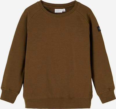 NAME IT Sweatshirt in braun, Produktansicht
