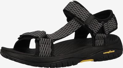 SKECHERS Sandalias de trekking en gris humo / negro, Vista del producto