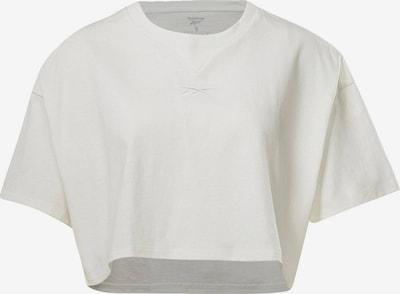 Reebok Sport Funkcionalna majica 'Studio' | bela barva, Prikaz izdelka