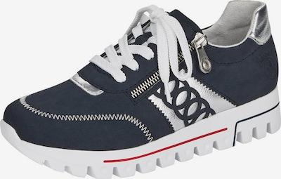 RIEKER Sneaker in dunkelblau / silber, Produktansicht