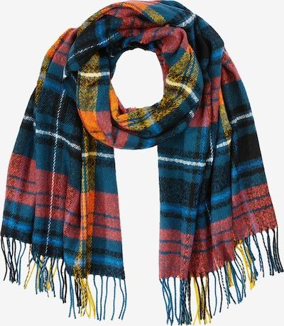 ONLY Sjaal in de kleur Nachtblauw / Sinaasappel / Pastelrood / Zwart, Productweergave