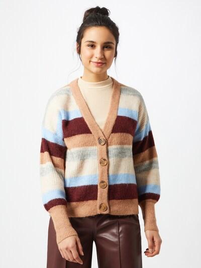 Y.A.S Strickjacke in mischfarben, Modelansicht