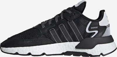 Sneaker low 'Nite Jogger' ADIDAS ORIGINALS pe negru / alb, Vizualizare produs