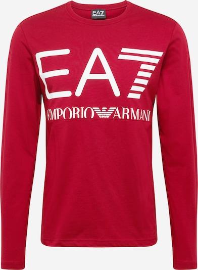 Tricou '6KPT30 PJ6EZ' EA7 Emporio Armani pe roșu / alb, Vizualizare produs
