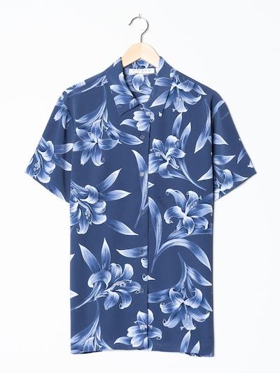 Chaus Blumenbluse in L in blau, Produktansicht