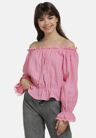 MYMO Bluse in pink, Modelansicht