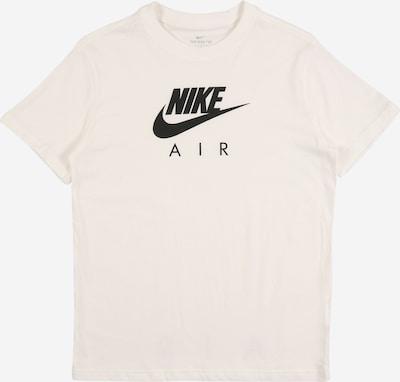 Nike Sportswear Majica | črna / pegasto bela barva, Prikaz izdelka