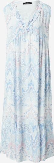 Zwillingsherz Dress 'Franzi' in Light blue / Dusky pink / White, Item view
