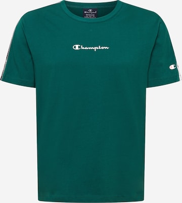 Champion Authentic Athletic Apparel Тениска в зелено