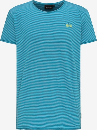 recolution T-Shirt Casual T-Shirt in blau, Produktansicht