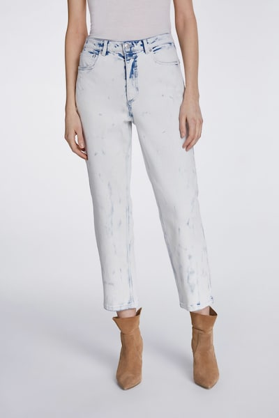 SET Jeans in blau / weiß, Modelansicht