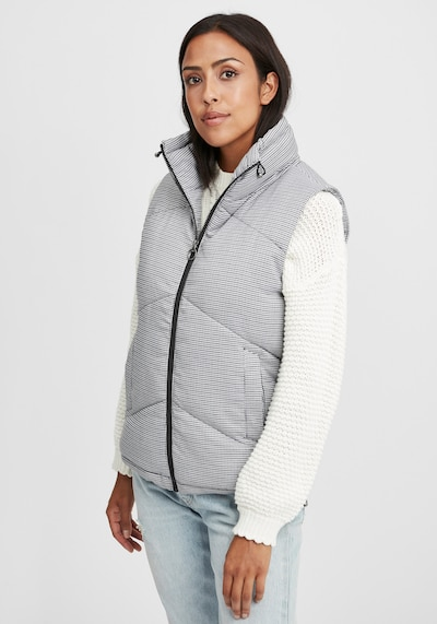 Oxmo Weste in grau, Modelansicht
