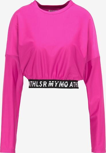myMo ATHLSR Shirt in pink / schwarz / weiß, Produktansicht