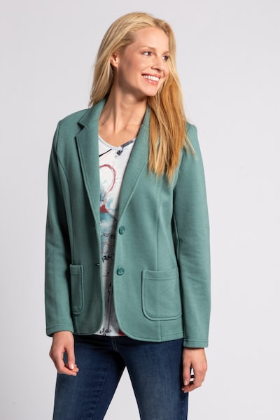 Gina Laura Blazer '750357' in smaragd, Modelansicht