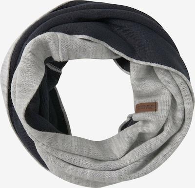 TOM TAILOR Sjaal in de kleur Lichtgrijs / Zwart, Productweergave