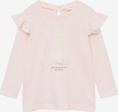 MANGO KIDS Majica 'BUNNY'   bež / svetlo roza barva, Prikaz izdelka