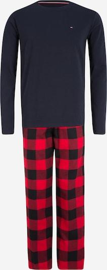 Ilga pižama iš Tommy Hilfiger Underwear , spalva - tamsiai mėlyna / raudona: Vaizdas iš priekio
