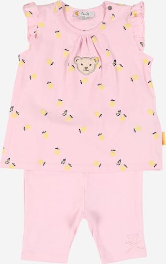Steiff Collection Conjunto en amarillo / lila oscuro / rosa claro, Vista del producto