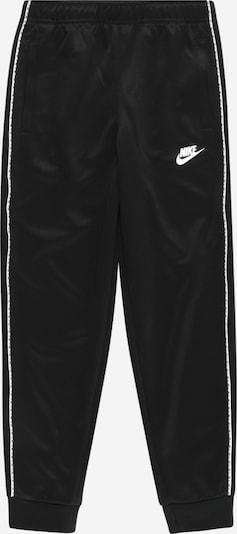 Nike Sportswear Jogginghose in schwarz / weiß, Produktansicht