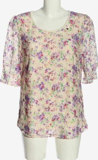 Himmelblau by Lola Paltinger Langarm-Bluse in XXL in creme / lila, Produktansicht
