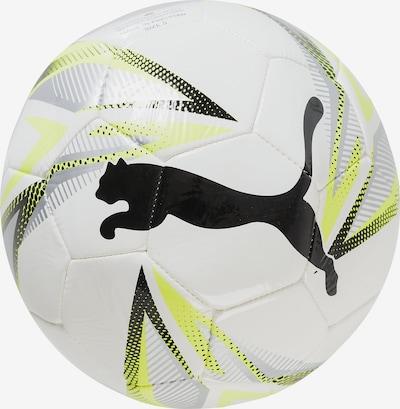 PUMA Fußball 'CAT' in gelb / schwarz / silber / weiß, Produktansicht