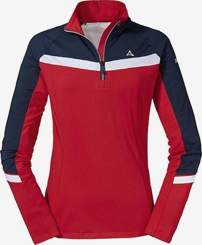 Schöffel Sportsweatshirt 'Stuben' in dunkelrot, Produktansicht