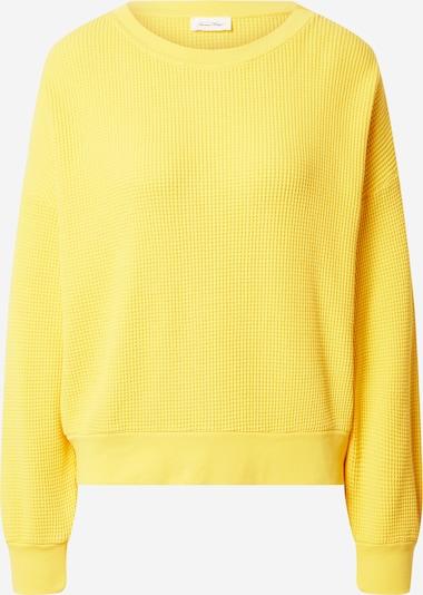 AMERICAN VINTAGE Sweat-shirt 'Bowilove' en jaune, Vue avec produit