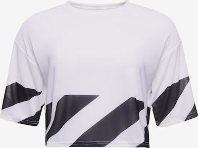 Superdry T-shirt fonctionnel en noir / blanc, Vue avec produit
