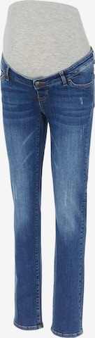 MAMALICIOUS Jeans 'Plano' in Blue