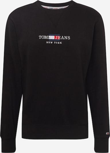 Tommy Jeans Sweatshirt i navy / rød / sort / hvid, Produktvisning