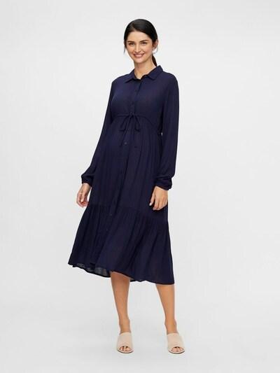 MAMALICIOUS Umstandskleid 'FAUNA' in dunkelblau, Modelansicht