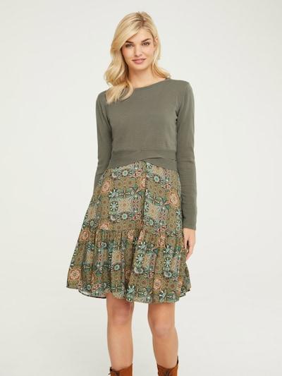 heine Pullover in oliv, Modelansicht