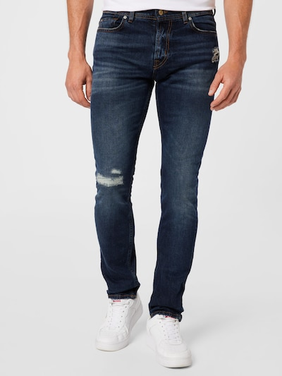 7 for all mankind Jeans 'RONNIE' in dunkelblau, Modelansicht
