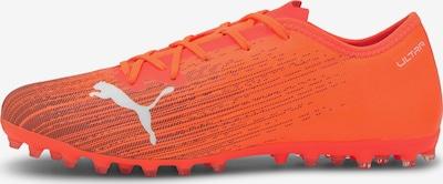 PUMA Fußballschuh ' Ultra' in orange / schwarz / weiß, Produktansicht