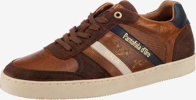 PANTOFOLA D'ORO Soverato Uomo Low Sneakers Low in dunkelbraun, Produktansicht