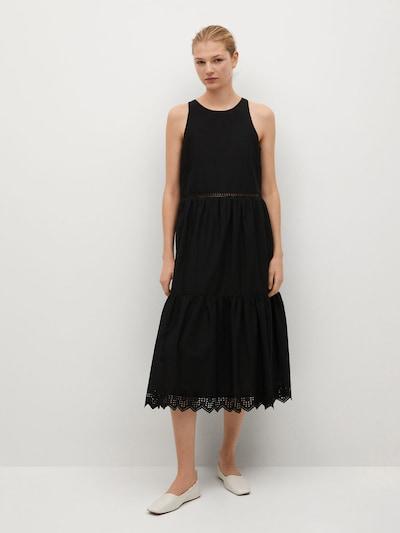 MANGO Kleid 'Ducky' in schwarz, Modelansicht