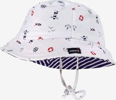 Pălărie MAXIMO pe bleumarin / roșu / alb, Vizualizare produs