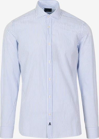 Scalpers Hemd 'Fancy' in hellblau / weiß, Produktansicht