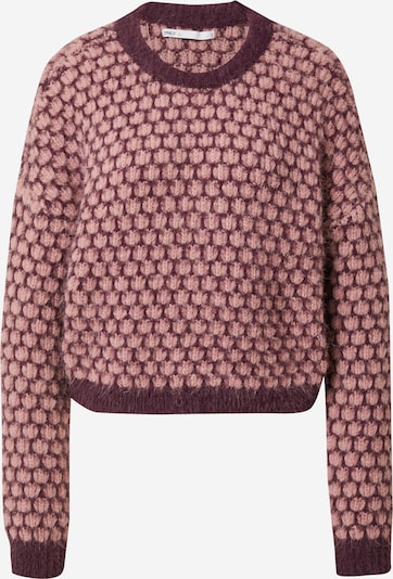 ONLY Sweater 'Lonnie' in Light pink / Burgundy, Item view