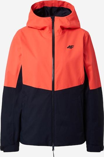 4F Zunanja jakna | nočno modra / losos barva, Prikaz izdelka
