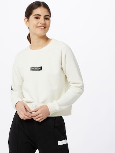 MOROTAI Sweatshirt 'NAKA' in weiß: Frontalansicht