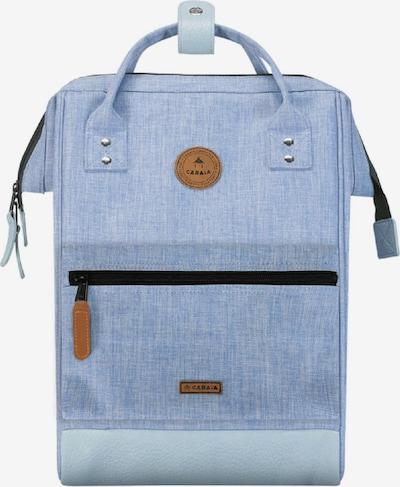Cabaia Rucksack in hellblau / braun, Produktansicht
