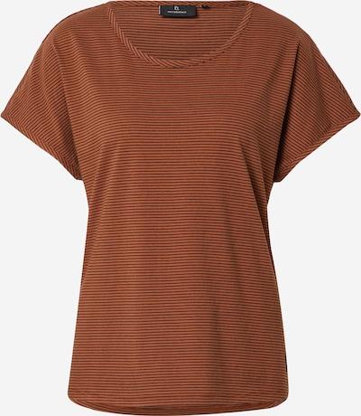 recolution T-Shirt  'ALOCASIA #MIND' in hummer / schwarz, Produktansicht