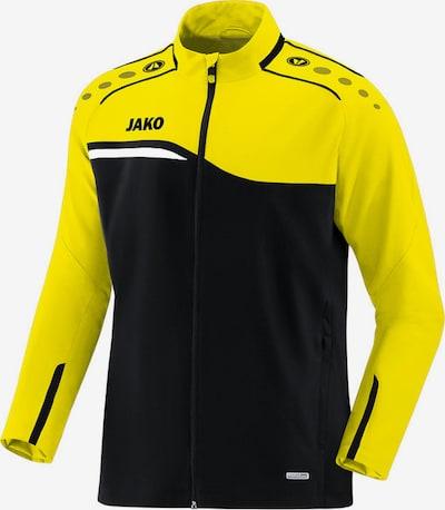 JAKO Jacke in gelb / schwarz, Produktansicht