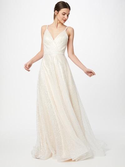 Unique Kleid in elfenbein, Modelansicht